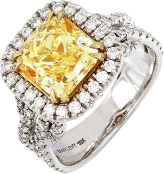 Bony Levy Yellow Diamond Ring