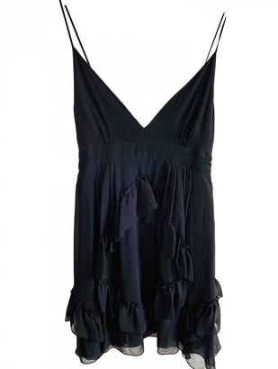 Faith Connexion Black Silk Dresses