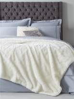 Hotel Collection Luxury Faux Fur Bedspread Throw 140x200cm