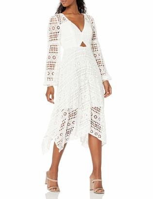 GUESS Women's Marcella Long Sleeve Dress