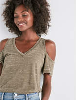 Lucky Brand Cold Shoulder Tee