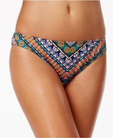 Bar III Printed Cheeky Hipster Bikini Bottoms, Only at Macy's