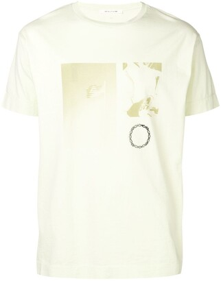 Alyx crew neck photo print T-shirt