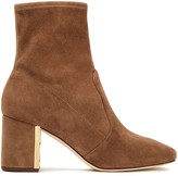 Thumbnail for your product : Tory Burch Stretch-suede Ankle Boots