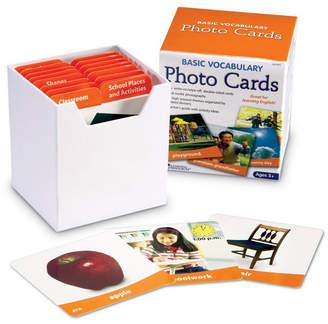 Learning Resources Basic Vocabulary Photo Cards