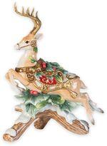 Fitz & Floyd Yuletide Holiday Left-Facing Deer Candleholder