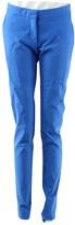 Stella McCartney Stella Mc Cartney Blue Cotton Trousers