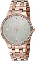 DKNY Women's 'Park Slope' Quartz Stainless Steel Casual Watch, Color:Rose Gold-Toned (Model: NY2581)