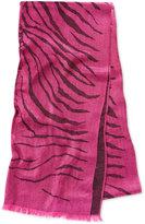 MICHAEL Michael Kors Zebra Jacquard Wrap, Only at Macy's