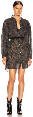 Etoile Isabel Marant Lana Dress in Black | FWRD