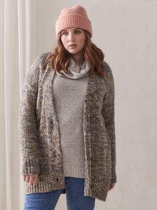 Chunky-Knit Cardigan - Addition Elle