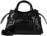 Thumbnail for your product : Balenciaga Neo Classic Small croc-effect leather tote