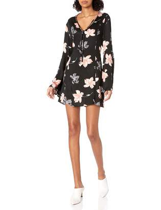 Somedays Lovin Women's Dark Paradise Floral Print Dress
