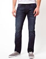 Wrangler Jeans Spencer Straight Fit Free Barn Wash