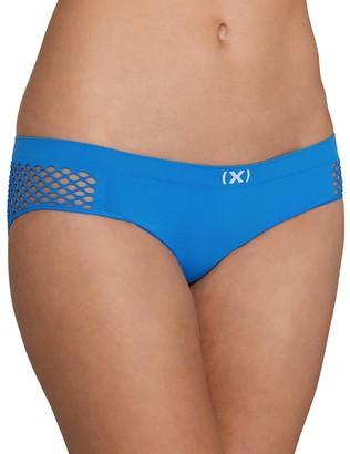 2xist Women's Seamless Open Mesh Bikini