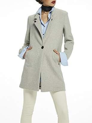Scotch & Soda Women's Bonded Wool Coat Jacket