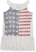 Arizona Americana Peplum Tank Top - Girls' 7-16 and Plus