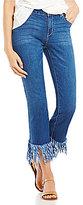GB Fringe Hem Jeans