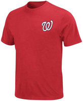 Majestic Men's Big and Tall Washington Nationals Official Wordmark T-Shirt