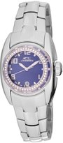 Chronotech Women's CT.7704BS/19M Silver Stainless steel Band watch.