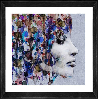Cooper Black Dreaming Blue Print With Frame