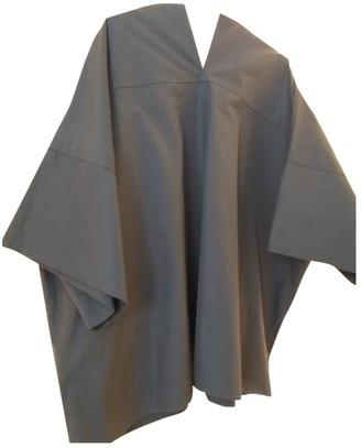Jil Sander Anthracite Cotton Top for Women