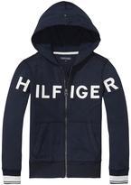 Tommy Hilfiger Zip Through Hoodie - Navy