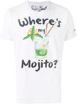 MC2 Saint Barth mojito print T-shirt - men - Cotton - L