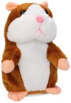 Banstore Adorable Interesting Speak Talking Record Hamster Mouse Plush Kids Toys