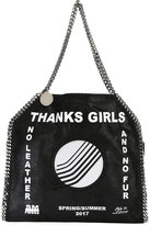 Stella McCartney Thanks Girls Falabella tote - women - Polyester/Acetate - One Size