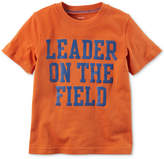 Carter's Leader Graphic-Print Cotton T-Shirt, Toddler Boys
