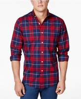 Club Room Men's Stretch Plaid Shirt, Created for Macy's