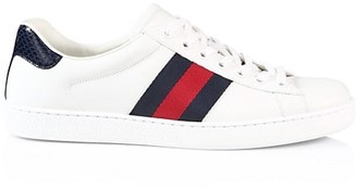 Gucci GG Stripe Tennis Sneakers