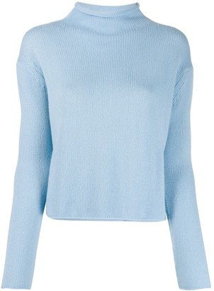 Ermanno Scervino Mock-Neck Knitted Jumper