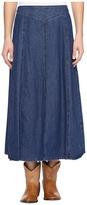 Roper 0717 7.5 Indigo Stretch Denim Skirt Women's Skirt