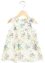 Paul Smith Girls' Watercolor Print Silk Dress