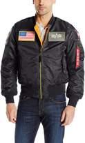 Alpha Industries Men's Ma-1 Flex Bomber Jacket