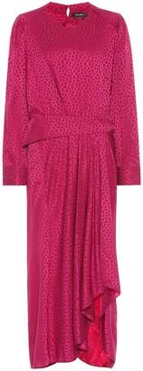 Isabel Marant Romina stretch-silk dress