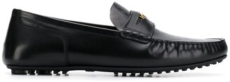 Versace Printed Loafers