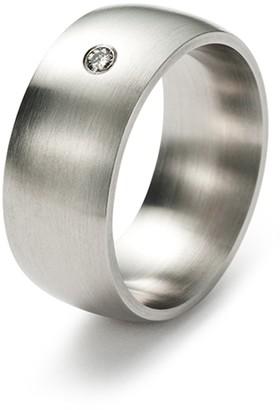 Monomania 20294-57 Unisex Ring Stainless Steel Anti-Allergic 9 mm Size 57 / Q 1/2