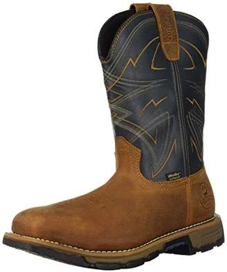 "Irish Setter Work Men's Marshall Waterproof Steel Toe 11"" Pull-On Boot"