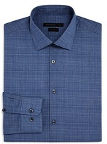John Varvatos Star Usa Check Slim Fit Dress Shirt