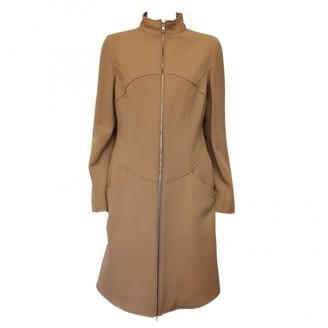 Moschino Beige Wool Coats