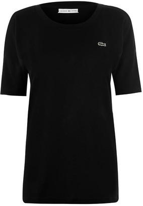 Lacoste Block Tape T Shirt