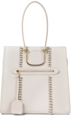 Alexander McQueen The Tall Story Knot leather tote