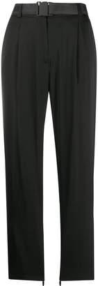 J. Lindeberg straight-leg buckle trousers