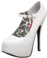 Pleaser USA Women's Teeze 07 Patent Platform Mary Jane