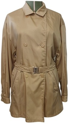 Prada Beige Trench Coat for Women