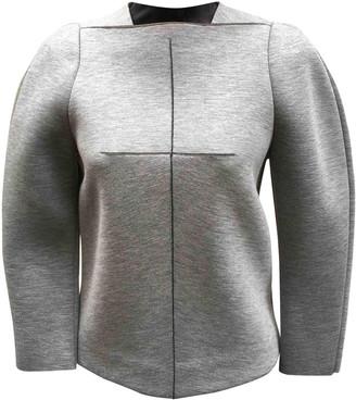 Balenciaga Grey Viscose Knitwear
