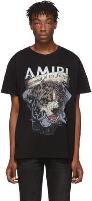 Amiri Black Pitbull T-Shirt